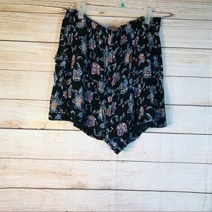 French laundry floral shorts Sz 3X
